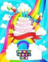 Birthday Coloring Book