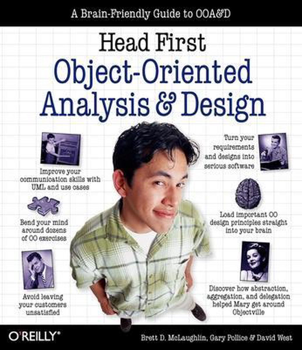 Head First Objects-Oriented Analysis and Design - Brett Mclaughlin