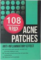 Pimple Patch - Acne Patch - Puisten Verwijderaar - Puisten Pleister - Acne Pleister - Acne Sticker - Puistjes Verwijderen - 108 stuks