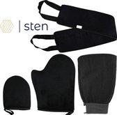 STEN | Zelfbruiner handschoen | Zelfbruiner rug | Zelfbruiner set | Foam...
