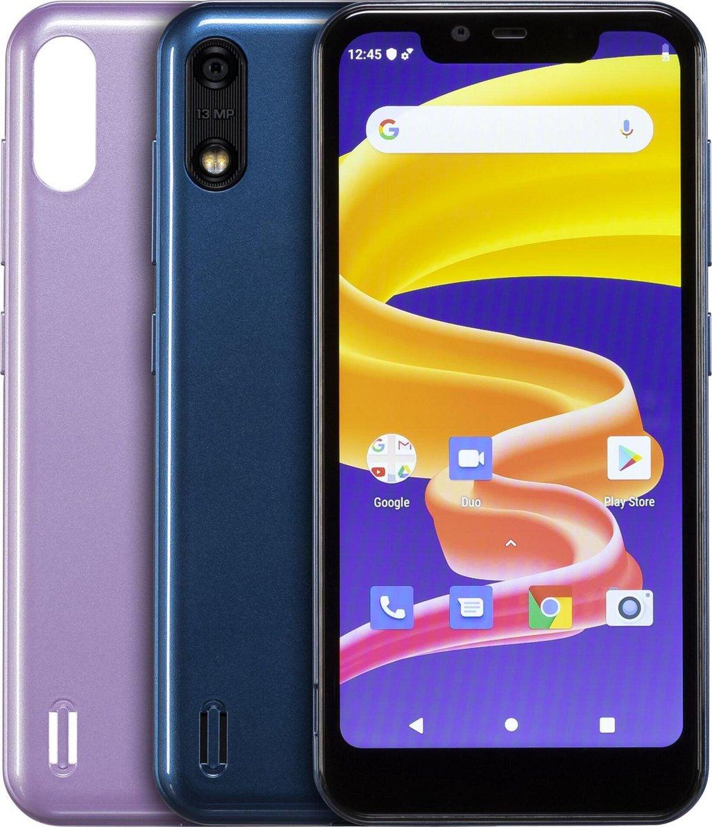 Blabloo Wave 1 Kinder- Smartphone 16 GB 5.45 inch (13.8 cm) Dual-SIM Android 9.0 Blauw, Pink
