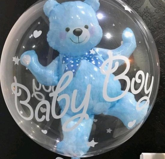 Baby Boy ballon/Geboorte/Verjaardag/Jongen/Ballon/4D