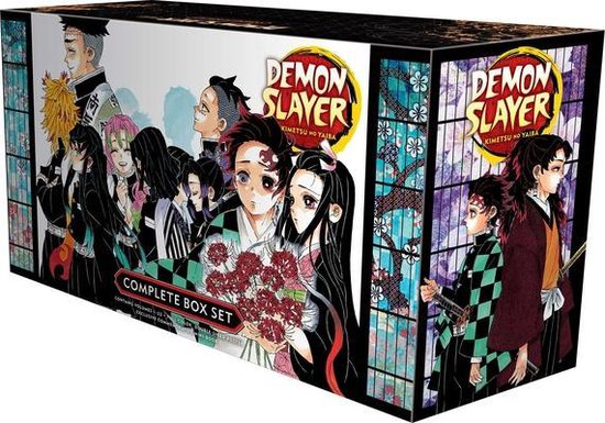 Boek cover Demon Slayer Complete Box Set van Koyoharu Gotouge (Paperback)