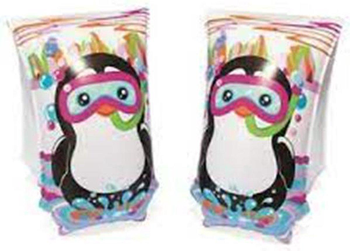 Bestway zwembandjes - Pinguin - 5-12 jaar - 15 x 30cm