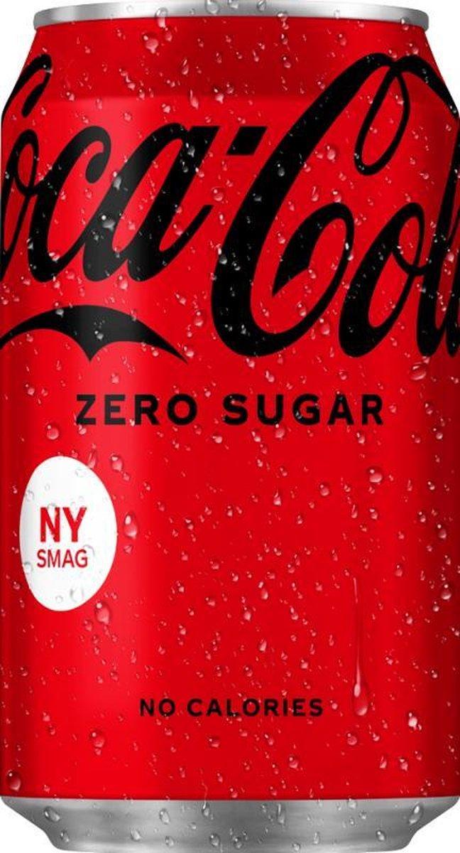 Coca Cola Zero Sugar Blikjes 33cl Tray 24 Stuks