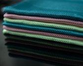 Microvezeldoekjes – 4 stuks – Raamdoeken – Schoonmaakdoekjes – Raamdoeken streepvrij – Microvezeldoeken – Reinigingsdoekjes –  Spiegeldoeken – Autodroog doek – Auto schoonmaak producten – 60 x 40cm