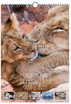 Familie Planner Schooljaar 2021-2022 Dierenfamilies