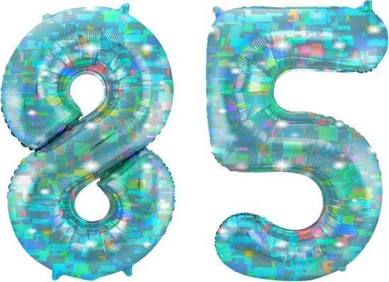 Cijfer 85 Galactic Aqua (86cm)
