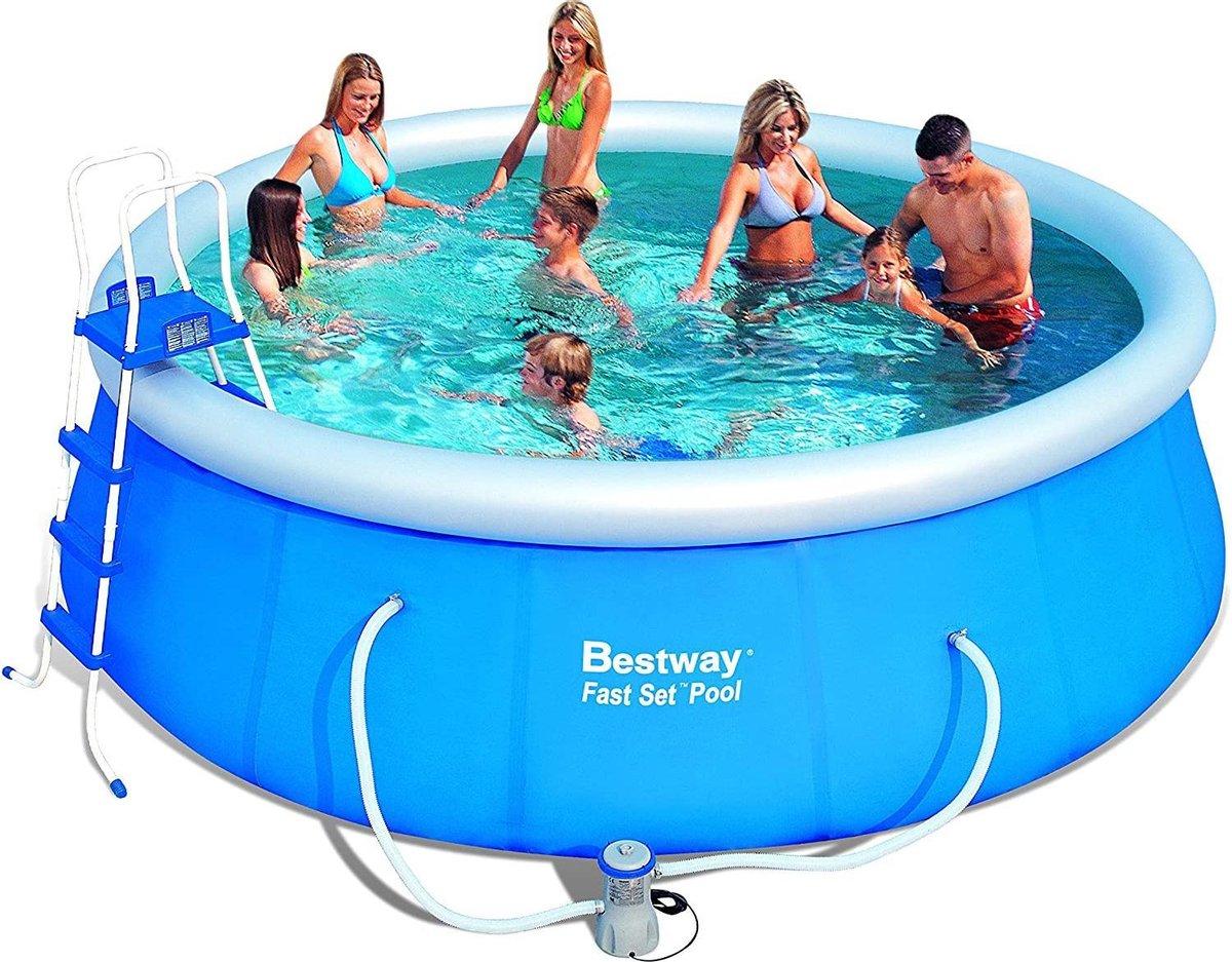 Intex Bestway 57148 Rond 457 cm 64 stuks 60x60cm zwembadtegels