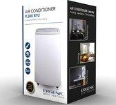 Ergenic - Silence - Airco - Extra stil - 9300BTU - Koelen - Ventileren - Ontvochtigen - Wit