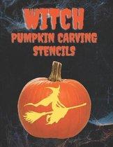 Witch Pumpkin Carving Stencils