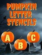 Pumpkin Letter Stencils