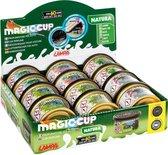 Magic cup autoparfum geurblikjes natura 12 stuks (zelfde als california scents alleen geur anders )