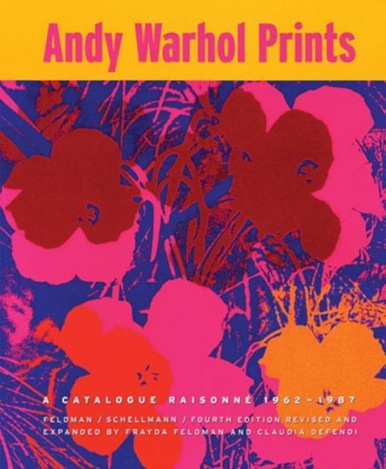 Boek cover Andy Warhol van Frayda Feldman (Hardcover)