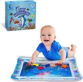 Waterspeelmat - Babygym - Opblaasbare Watermat - Tummy Time - Speelmat - Kraamcadeau