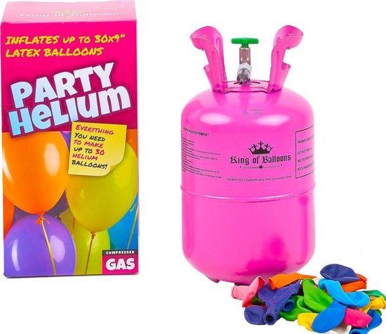Heliumtank voor thuis - 30 ballonnen