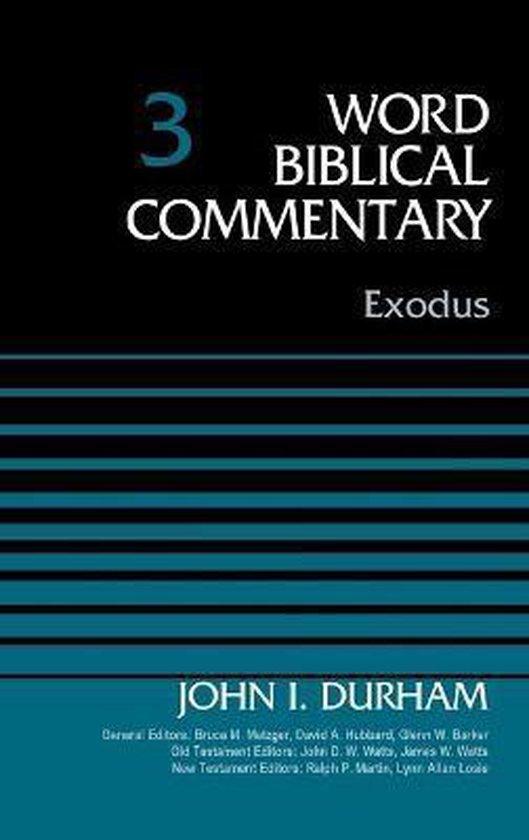 Boek cover Exodus, Volume 3 van Dr. John I. Durham (Hardcover)