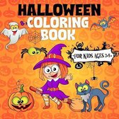 Halloween Coloring Book For Kids Ages 2-5
