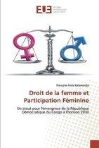 Droit de la femme et Participation Feminine