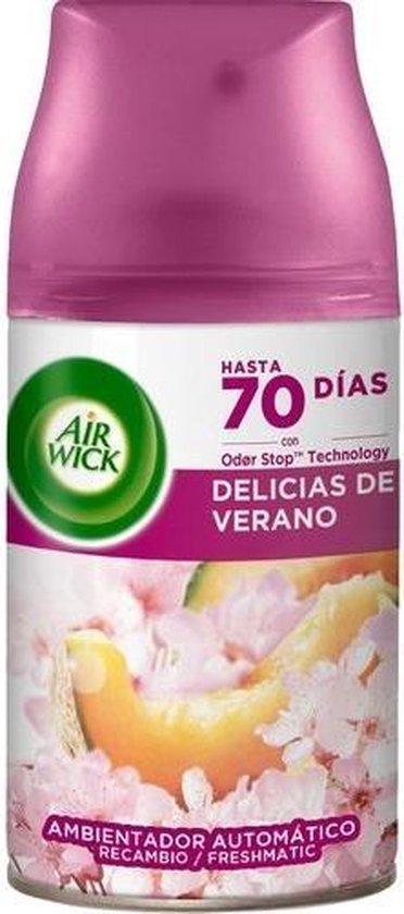 Air Wick Freshmatic Automatische Spray Luchtverfrisser - Life Scents Zalige Zomer - Navulling - 3 Stuks - Voordeelverpakking