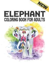 Elephant Coloring Book For Adults
