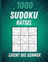 1000 Sudoku Ratsel Leicht bis Schwer