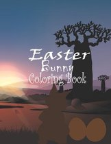 Easter bunny coloring book