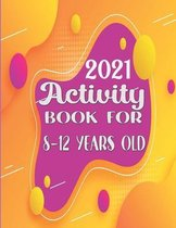 Activity book for 8-12 years old