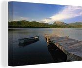 Steiger in het Nationaal park Gros Morne in Noord-Amerika Canvas 60x40 cm - Foto print op Canvas schilderij (Wanddecoratie woonkamer / slaapkamer)