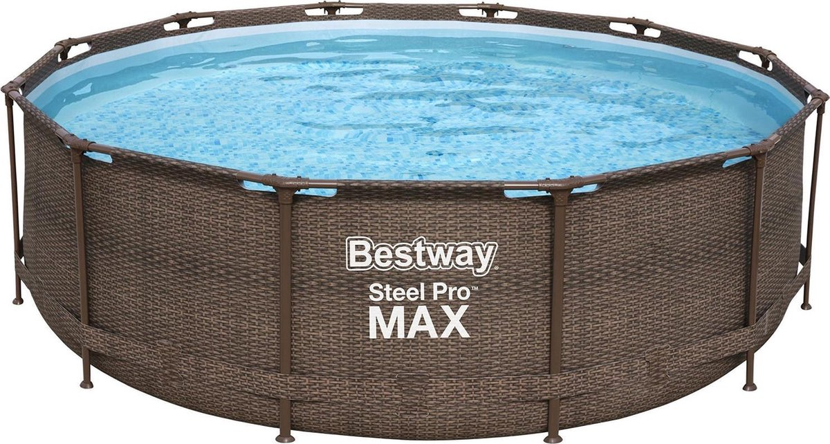 Bestway zwembad Steel Pro Max rotan 366 cm