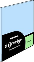 D'Orveige Kussenslopen (2 Stuks) - 100% Katoen - 60x70 cm - Licht Blauw