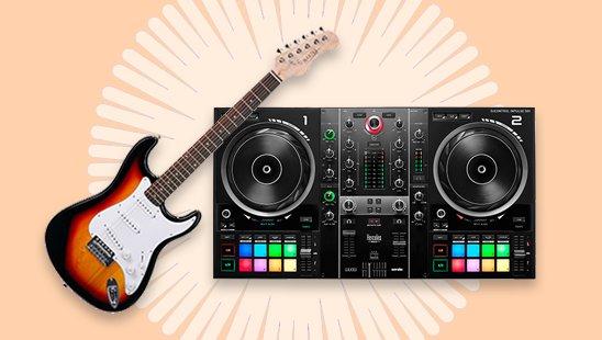 Muziekinstrumenten, DJ & Studio