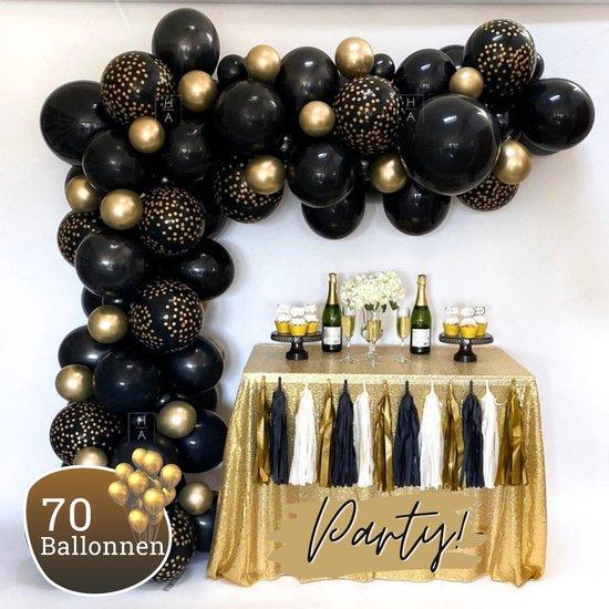 Sellaio Ballonnenboog – Ballonnen verjaardag – Versiering – Kerst – Oud en nieuw – Inclusief strip en pomp – Complete set – 70 ballonnen