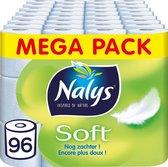 Nalys Soft Hybride Toiletpapier - 2 lagen - 96 rollen