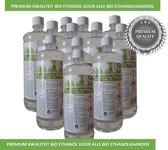 Biobranderhaard bol.com aanbieding  premium kwaliteit Bio ethanol  12 flessen bio ethanol   voor sfeerhaarden   geurloos   milieuvriendelijk   premium kwaliteit   bio ethanolhaard vulling   sfeerhaarden bio ethanol   sfeerhaardvulling