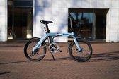 Vroom X - Elektrische vouwfiets - Opvouwbare e-bike - Sky Blue