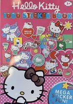 Hello Kitty - 1000 stickerboek - stickers - Roze