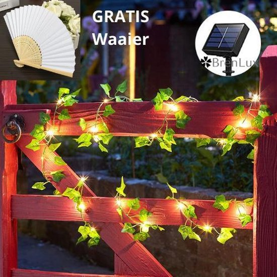 ✿BrenLux® Lichtsnoer sfeerverlichting - Verlichtingslinger zonne-energie -...