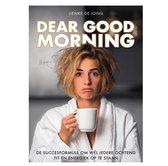 Dear Good Morning | DGM | Lienke de Jong | Lifestyle Boek | Ochtendroutine | DGM-boek