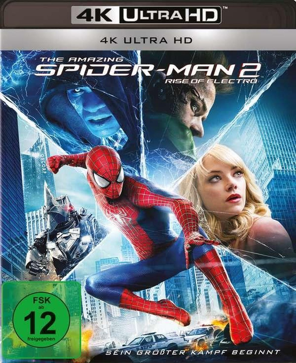 The Amazing Spider-Man 2 - Rise of Electro (Ultra HD Blu-ray)-