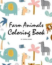 Farm Animals Coloring Book for Children (8x10 Coloring Book / Activity Book)