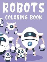 Robots Coloring Book