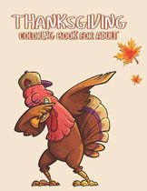 Thanksgiving Coloring books for adults