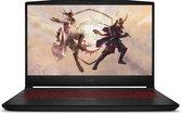 MSI Gaming GF66 11UE-003NL Katana - Gaming Laptop - 15.6 inch - 144 Hz - Zwart