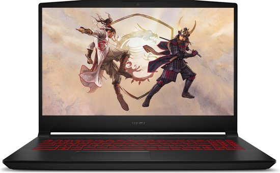 MSI Gaming GF66 11UE-003NL Katana - Gaming Laptop - 15.6 inch - 144 Hz