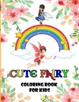 Cute Fairy Coloring Book for Kids