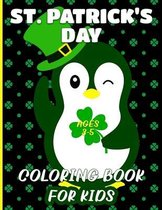 St. Patrick's Day Coloring Book For Kids Ages 3-5