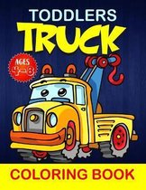 Toddlers Truck Coloring Book for Ages 4-8