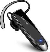 New Bee VIP™ - Draadloze headset - Bluetooth 5.0  - Wireless carkit Auto - Office koptelefoon - Handsfree Bellen - Werk oordopjes - Bluetooth Noise cancelling