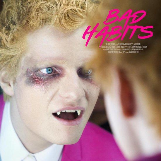 CD cover van Bad Habits van Ed Sheeran